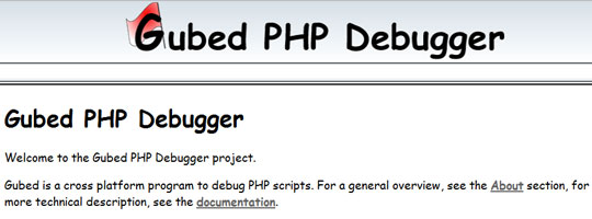 gubed-php-debugger