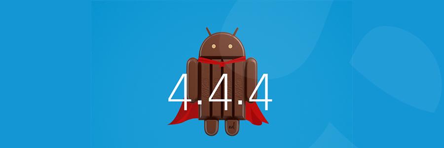 نسخه ۴.۴.۴ اندروید منتشر شد