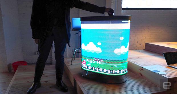 سطل زباله هوشمند TetraBIN زباله را به بازی تبدیل میکند